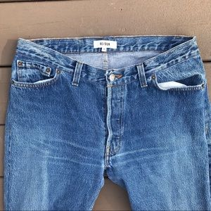 Re/Done Jeans - Re/Done Straight Leg Jeans [30]